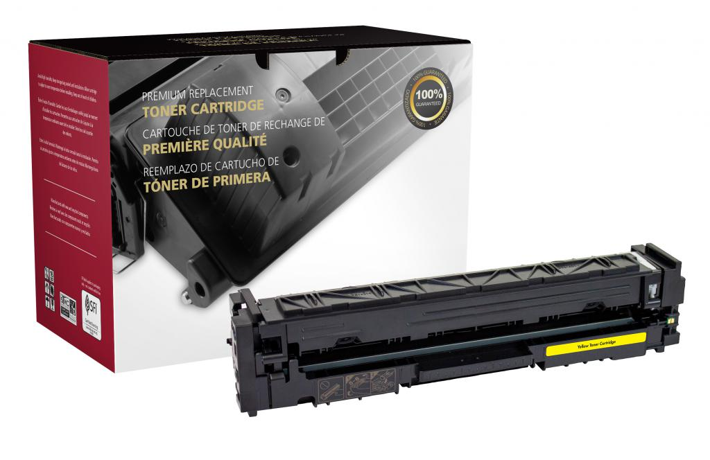OTPG Remanufactured High Yield Yellow Toner Cartridge for HP CF502X (HP 202X)