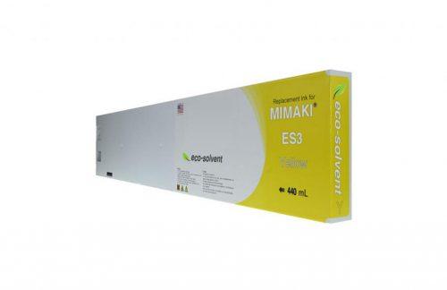 WF Non-OEM New Yellow Wide Format Inkjet Cartridge for Mimaki ES3 (SPC-0440Y)