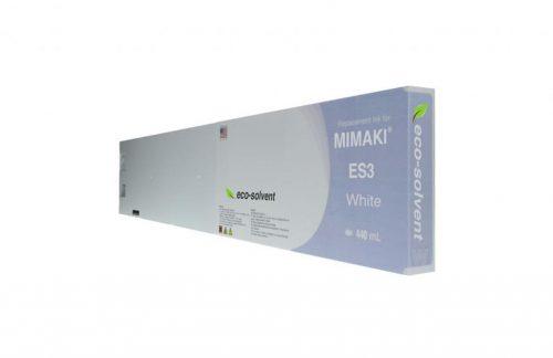 WF Non-OEM New White Wide Format Inkjet Cartridge for Mimaki ES3 (SPC-0440W)