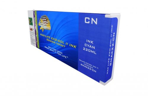 LC Non-OEM New Cyan Wide Format Inkjet Cartridge for Roland ESL4-2C