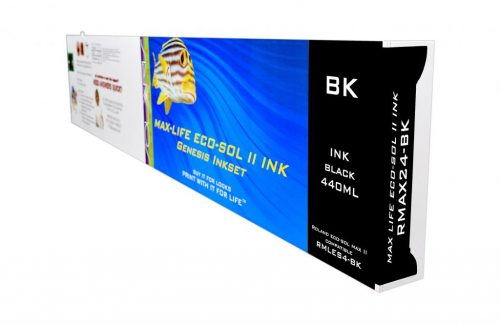 LC Non-OEM New Black Wide Format Inkjet Cartridge for Roland ESL4-4BK