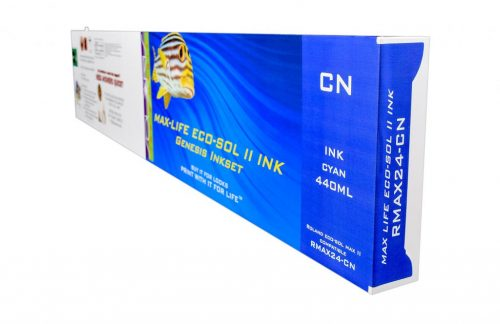 LC Non-OEM New Cyan Wide Format Inkjet Cartridge for Roland ESL4-4C