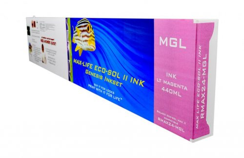 LC Non-OEM New Light Magenta Wide Format Inkjet Cartridge for Roland ESL4-4LM