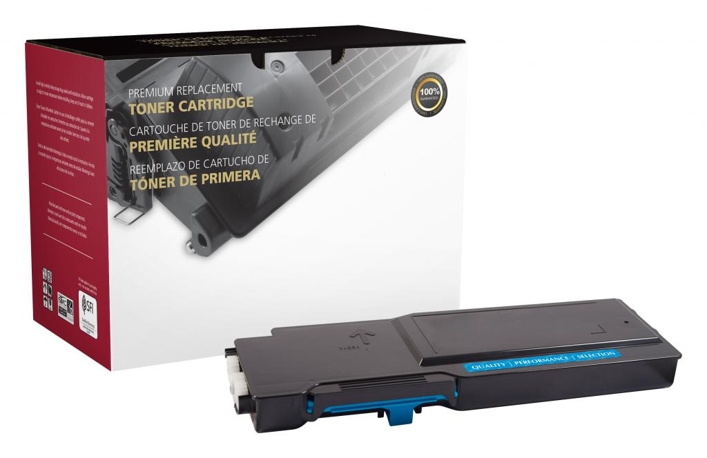 OTPG Remanufactured Extra High Yield Cyan Toner Cartridge for Xerox 106R03526