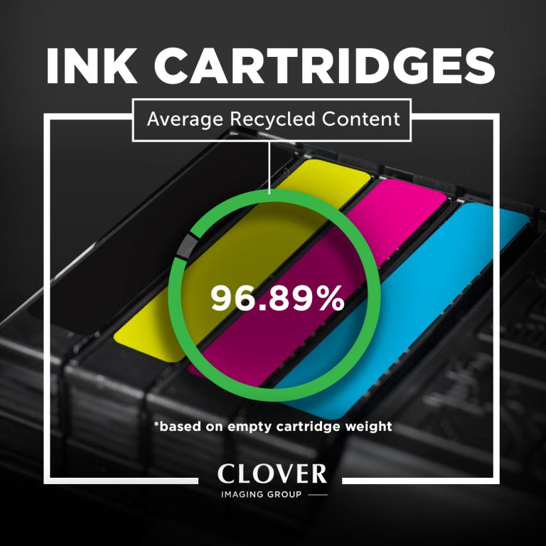 Clover Imaging Remanufactured High Yield Cyan Ink Cartridge for HP T6M02AN (HP 902XL)