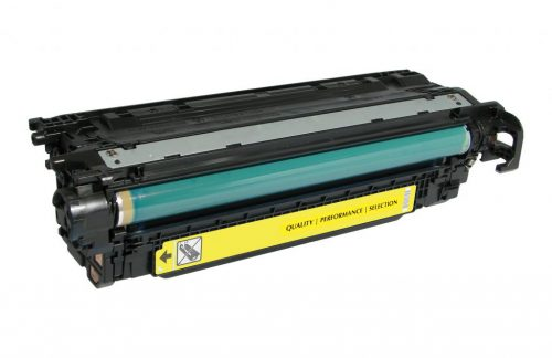 Clover Imaging Remanufactured Extended Yield Yellow Toner Cartridge for HP CE252A