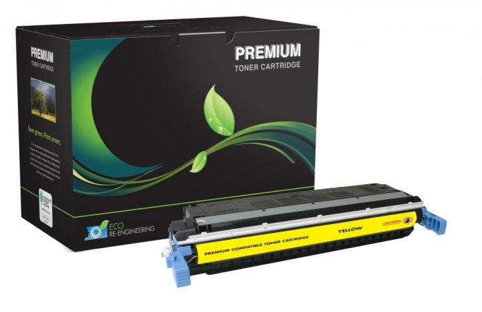 OTPG Remanufactured Yellow Toner Cartridge for HP C9732A (HP 645A)