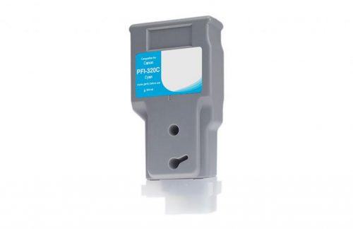 WF Non-OEM New Cyan Wide Format Ink Cartridge for Canon PFI-320