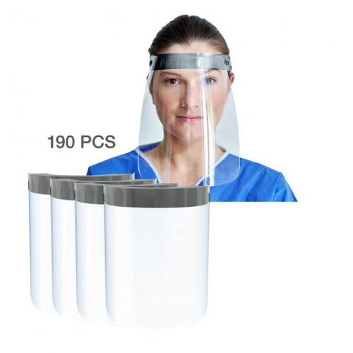 Responsible Reusable PPE Face Shield (Case of 190)