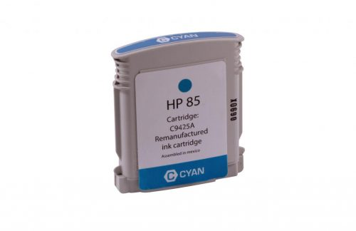 WF Remanufactured Cyan Wide Format Ink Cartridge for HP C9425A (HP 85)