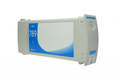 WF Remanufactured Cyan Wide Format Ink Cartridge for HP 789 (CH616A)
