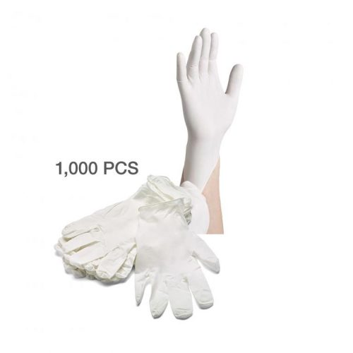 Disposable Latex Gloves - Large (Case of 1000)