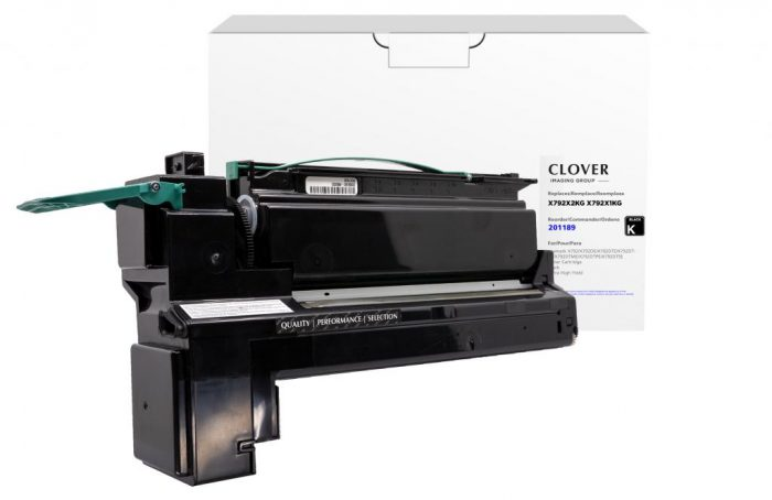 OTPG  Remanufactured Extra High Yield Black Toner Cartridge for Lexmark X792