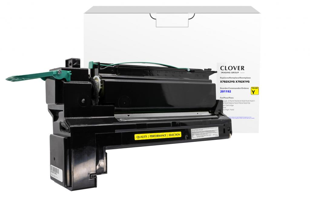 OTPG  Remanufactured Extra High Yield Yellow Toner Cartridge for Lexmark X792