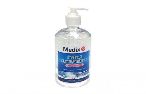 Medix Hand Sanitizer 16 fl oz Pump Cap (Case of 20)