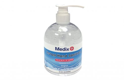 Medix Hand Sanitizer 16.9 fl oz Pump Cap (Case of 32)