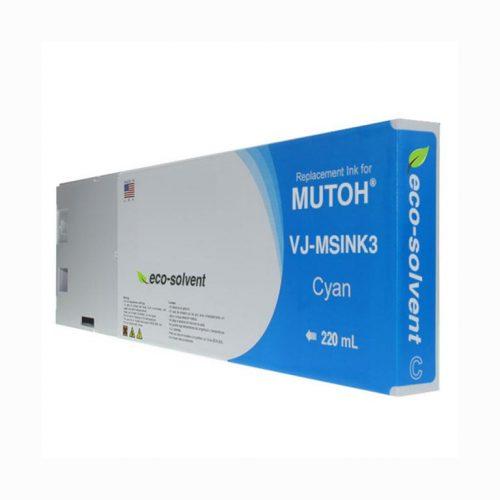 WF Non-OEM New Cyan Wide Format Inkjet Cartridge for Mutoh VJ-MSINK3A-CY220
